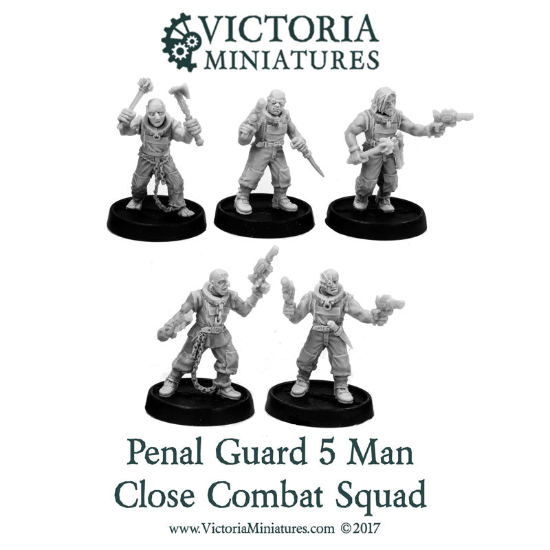 Penal Guard 5 Man Close Combat Squad