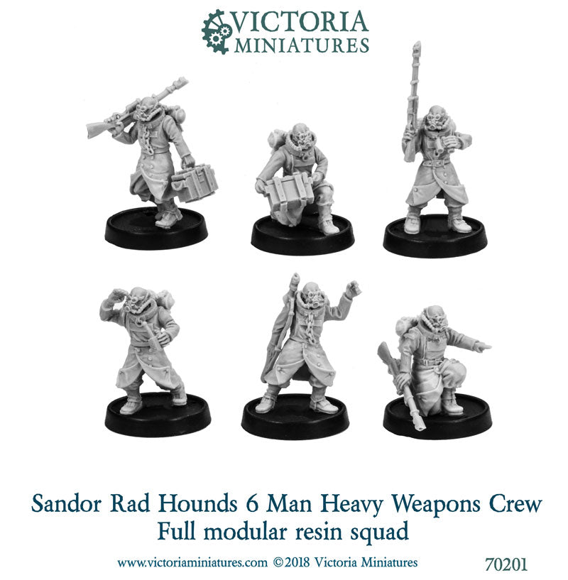Sandor Rad Hounds Heavy Weapons Crew