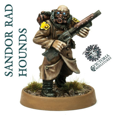 Sandor Rad Hounds 10 Man Squad