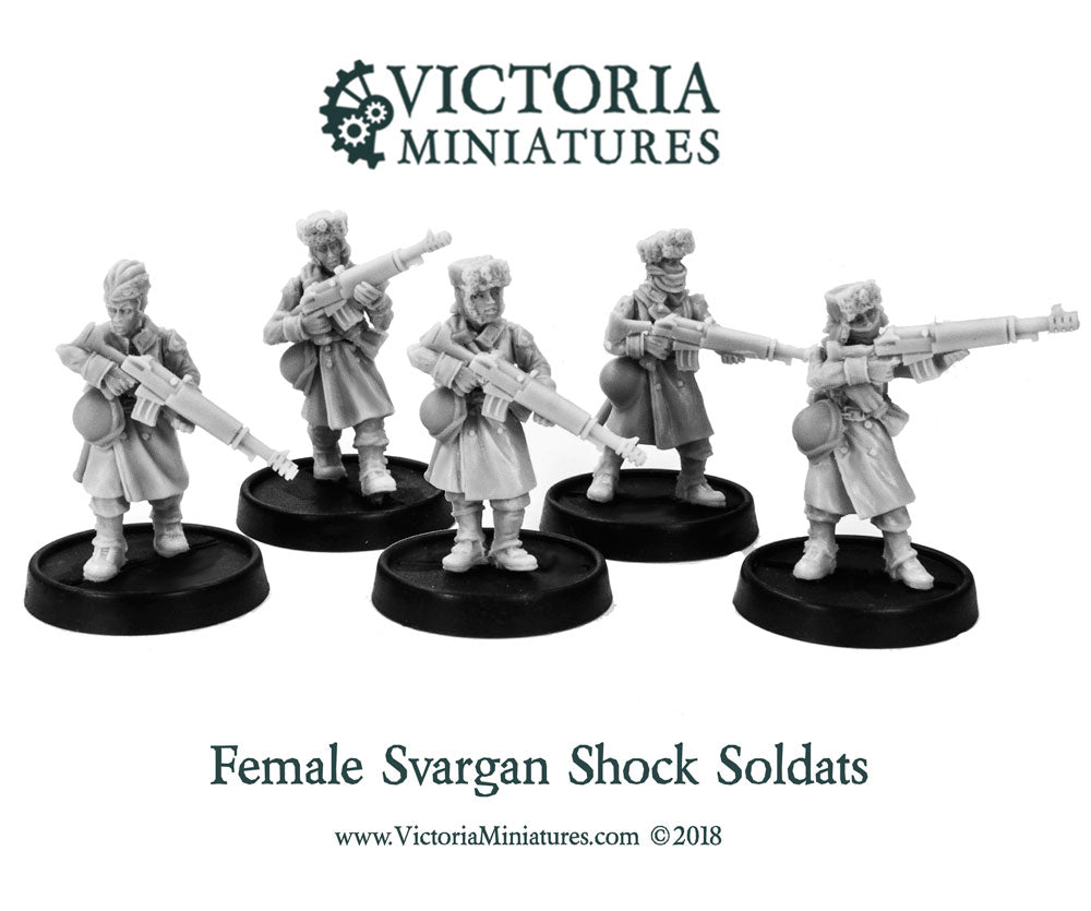 Winter Torsos Female x 5