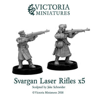 Svargan Laser Rifles x5