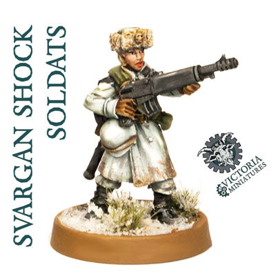 Svargan Shock Soldats 5 Woman Squad.