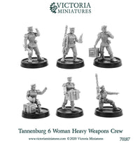 Tannenburg Fusiliers Heavy Weapons Crew (female)