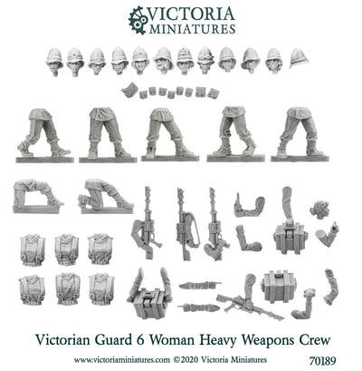 Victorian Guard Heavy Weapons Crew (female)