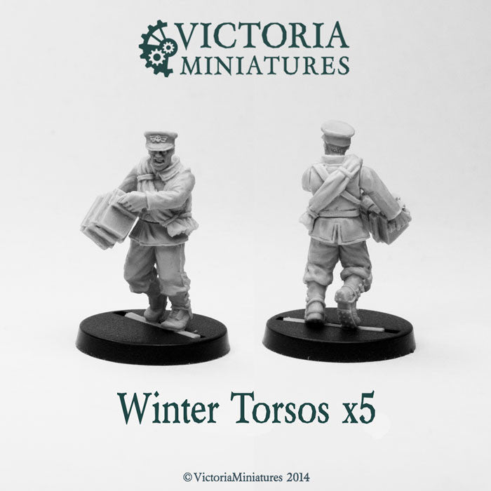 5 Winter Torsos (male)