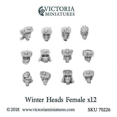 Winter Heads x12 (Female)