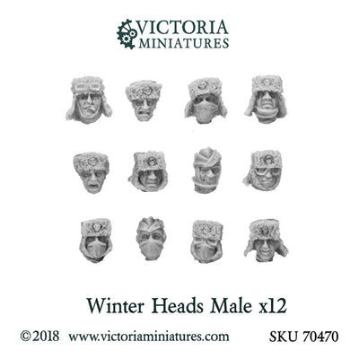 Winter Heads x12  (Male)