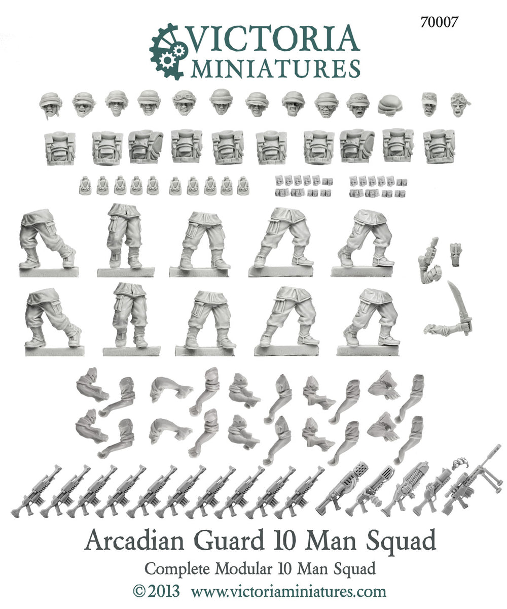 Arcadian Guard 10 Man Squad