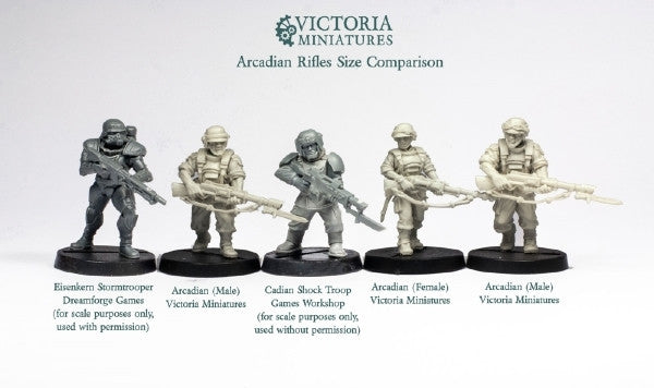 Arcadian Guard 10 Woman Squad.
