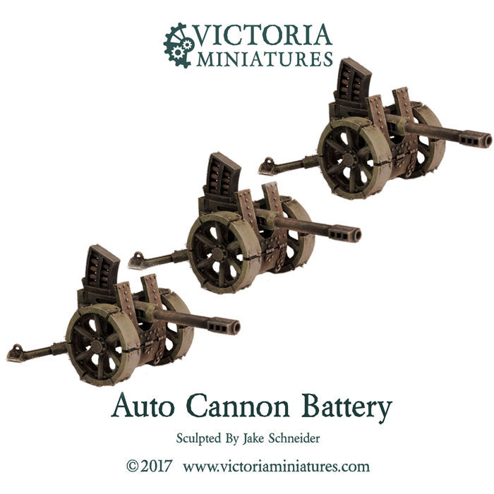 Auto Cannon Battery (auto cannon x3)