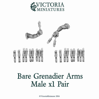 Bare Grenadier Arms Male