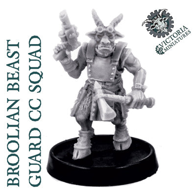 Broolian Beast Guard 10 Man Close Combat Squad.