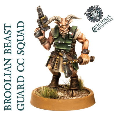 Broolian Beast Guard 5 Man Close Combat Squad.