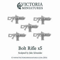 Bolt Rifle x5