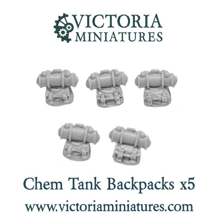 Chem tank backpacks x 5