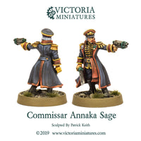 Female Commissar Annaka Sage