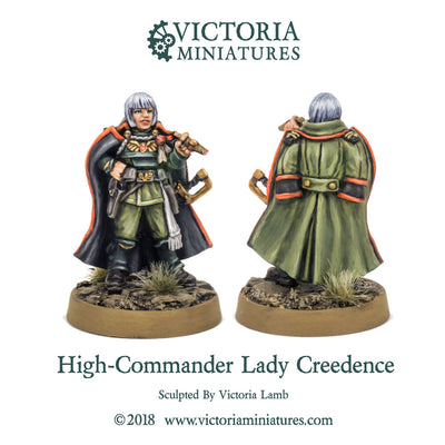 High-Commander Lady Creedence