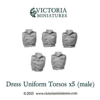 5 Dress Uniform Torsos (male)