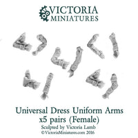 Universal Dress Uniform Rifle Arms (female)