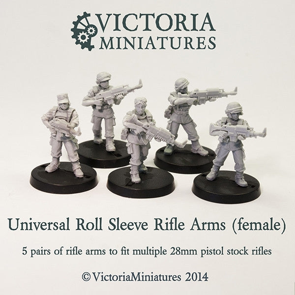 Universal Rolled Sleeve Rifle Arms (female)