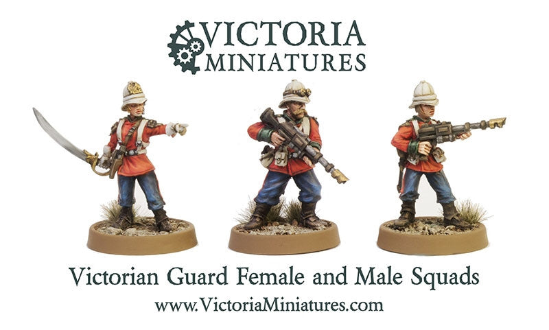 Victorian Guard 5 Woman Squad.