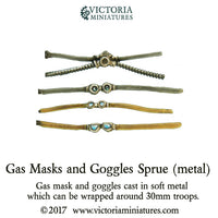 Gas Mask and Goggles Sprue (metal)