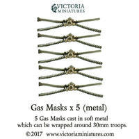 Gas Mask x5 (metal)