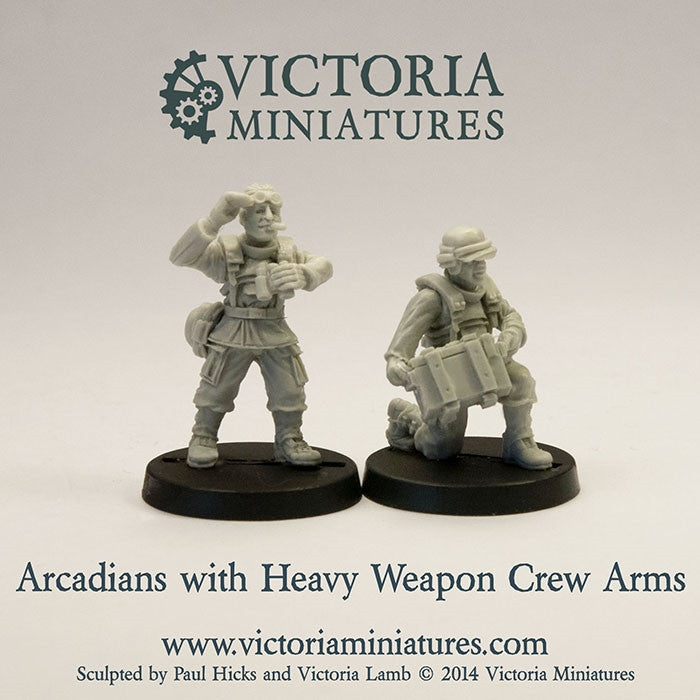 Heavy Weapon Crew Arms (male)