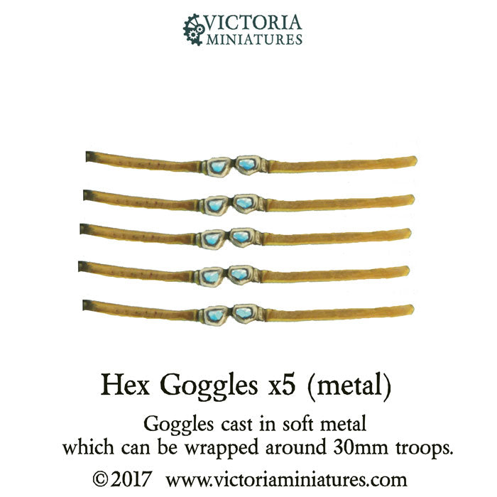 Goggles Hex x5 (metal)