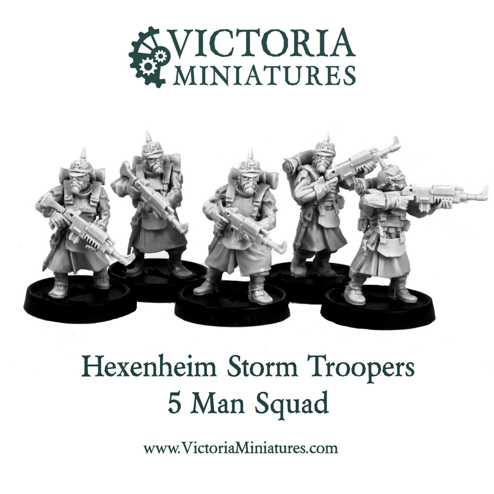 Hexenheim Storm Troopers 10 Man Squad