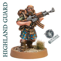 Highland Moss Guard 5 Man Squad.