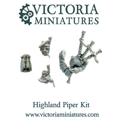 Highland Piper Conversion Kit (resin)
