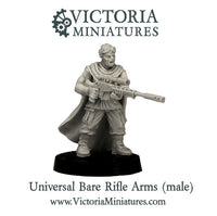 Universal Bare Rifle Arms (male)