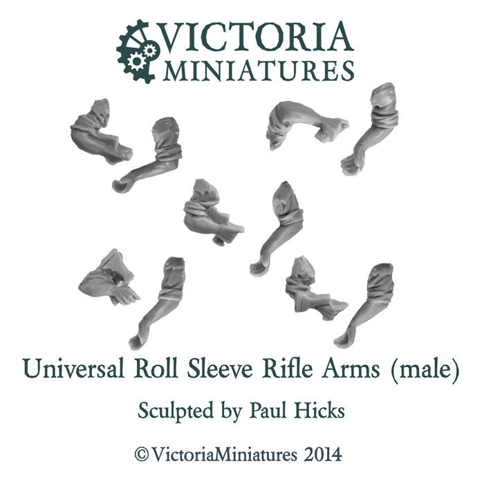 Universal Rolled Sleeve Rifle Arms (male)
