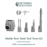 Matilda 'Boss' Battle Tank Turret Kit