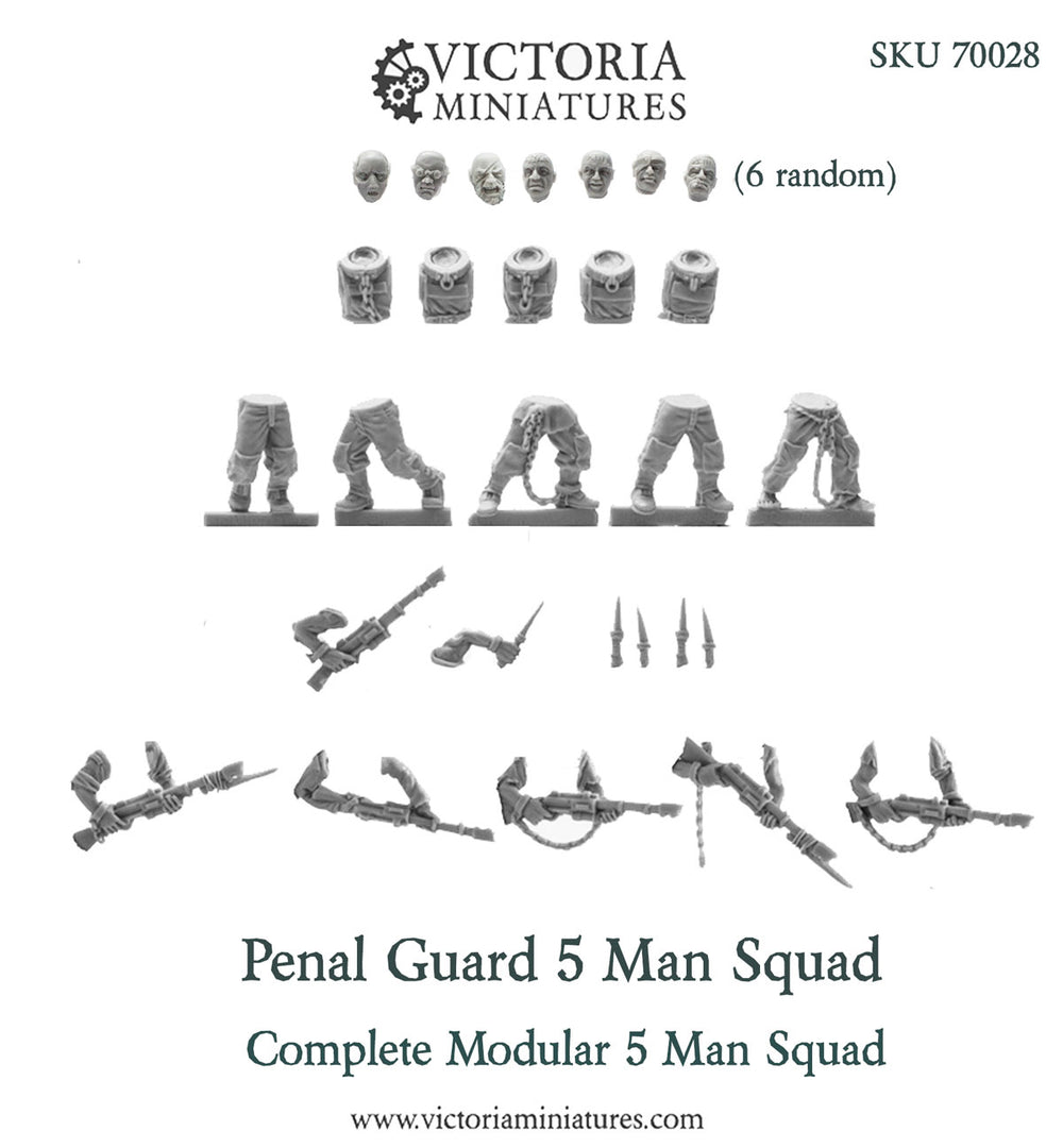 Penal Guard 5 Man Squad