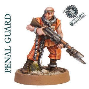 Penal Guard 10 Man Resin Squad