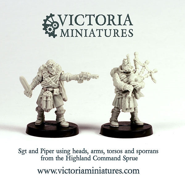 Highland Guard Command Sprue