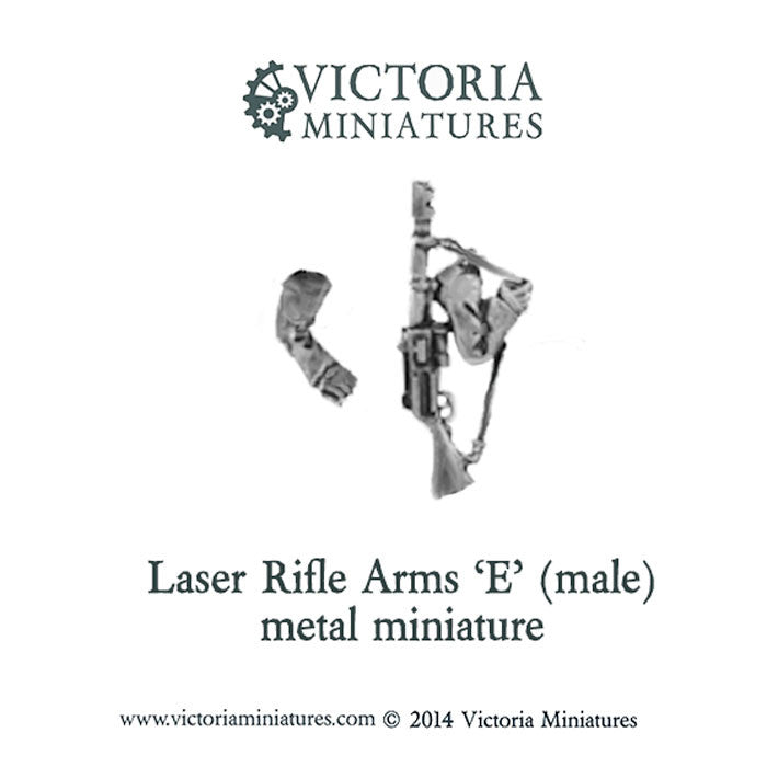 Laser Rifle arms 'E' (male, metal)
