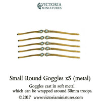 Goggles Small Round x5 (metal)