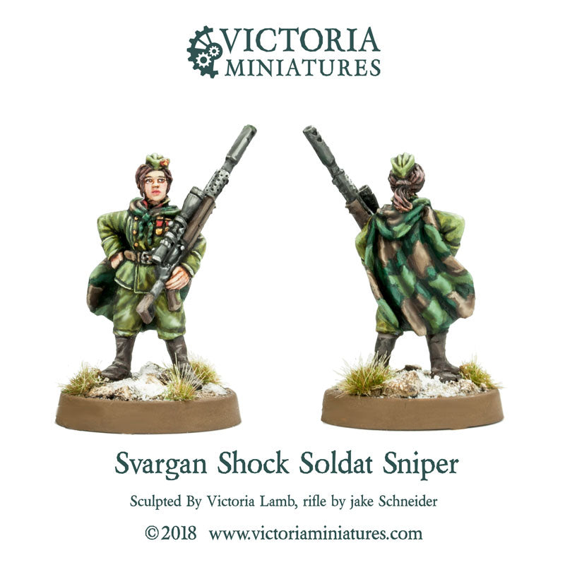 Svargan Shock Soldat Female Sniper