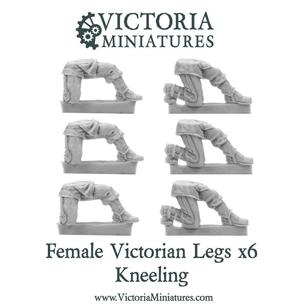 Victorian Legs Kneeling (female)