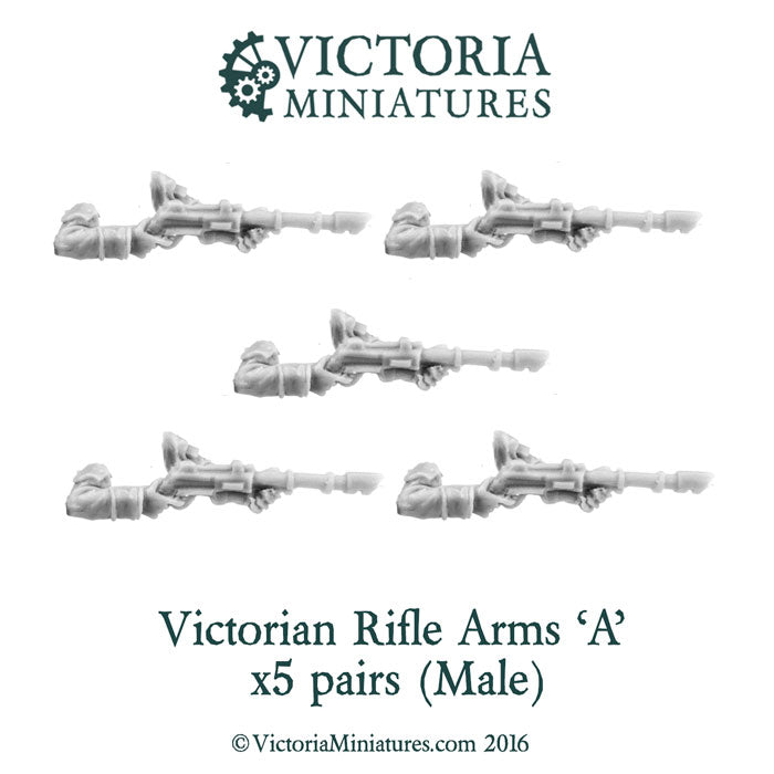 Victorian Rifle Arms 'A' (Male)
