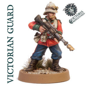 Victorian Guard 5 Man Squad.