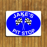 Pit Stop Sign