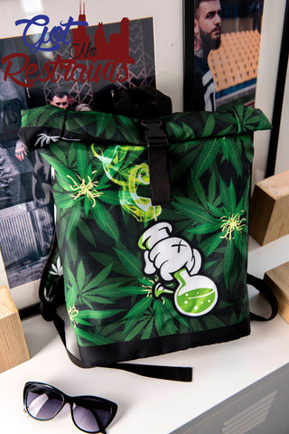 Water Pipe Printed Travel Bag - Got No Restraints