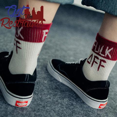 Express Yourself Socks - Got No Restraints