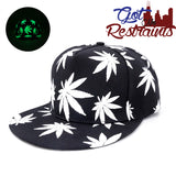 Maple Leaf Glow in the Dark Snapback - Got No Restraints