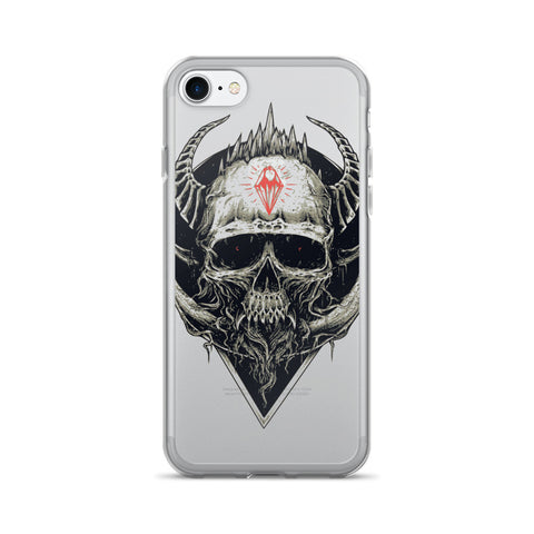 Diamond Skull iPhone 7/7 Plus Case - Got No Restraints