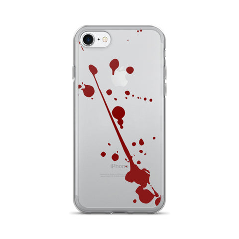 Blood Splatter - iPhone 7/7 Plus Case - Got No Restraints